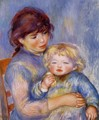 Motherhood Aka Child With A Biscuit - Pierre Auguste Renoir