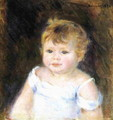Portrait Of An Infant - Pierre Auguste Renoir