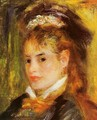 Portrait Of A Young Woman2 - Pierre Auguste Renoir
