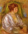 Portrait Of A Woman2 - Pierre Auguste Renoir