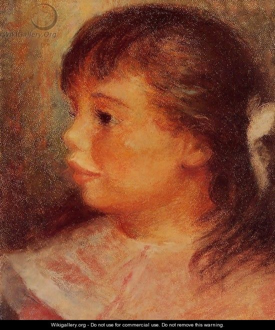 Portrait Of A Girl 3 - Pierre Auguste Renoir
