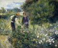 Picking Flowers - Pierre Auguste Renoir