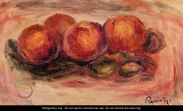 Peaches And Almonds - Pierre Auguste Renoir