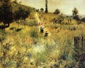 Path Leading Through Tall Grass - Pierre Auguste Renoir