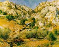 Rocky Craggs At L Estaque - Pierre Auguste Renoir