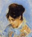 Portrait Of Madame Claude Monet - Pierre Auguste Renoir