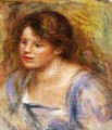 Portrait Of Lucienne - Pierre Auguste Renoir