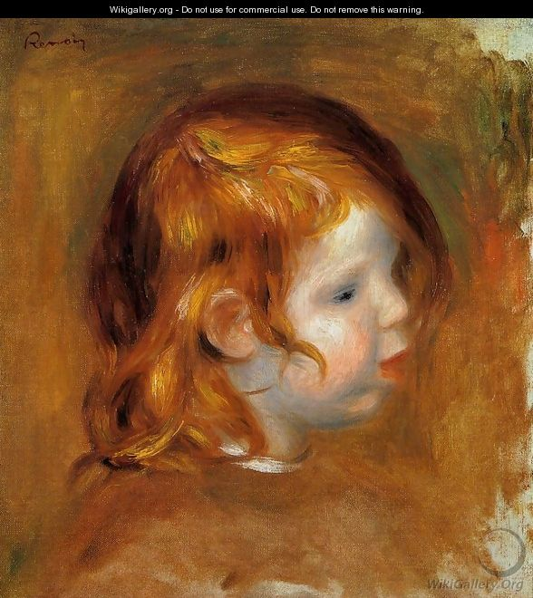 Portrait Of Jean - Pierre Auguste Renoir