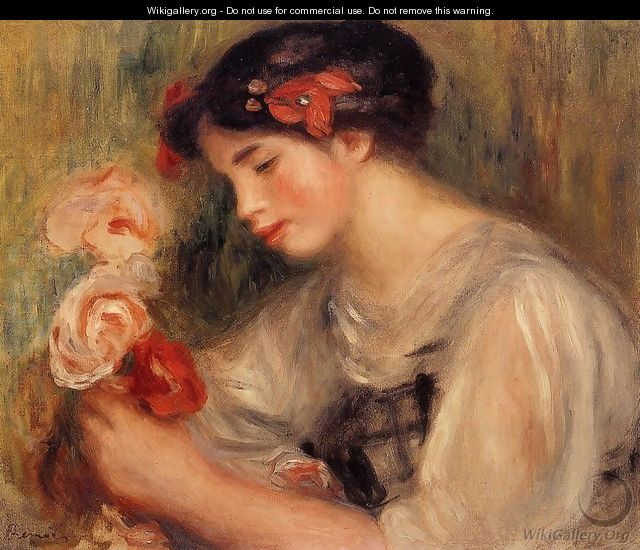 Agree, Renoir girl with flowers consider