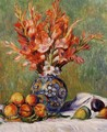 Flowers And Fruit - Pierre Auguste Renoir