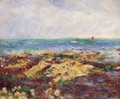Low Tide At Yport - Pierre Auguste Renoir