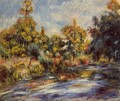 Landscape With River - Pierre Auguste Renoir