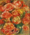 A Bowlful Of Roses - Pierre Auguste Renoir