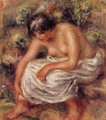 Bathing - Pierre Auguste Renoir