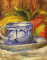 Cup And Fruit - Pierre Auguste Renoir