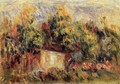 Cottage Near Collettes - Pierre Auguste Renoir
