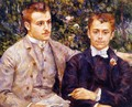 Charles And Georges Durand Ruel - Pierre Auguste Renoir
