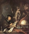 The Painter In His Studio - Gerrit Dou