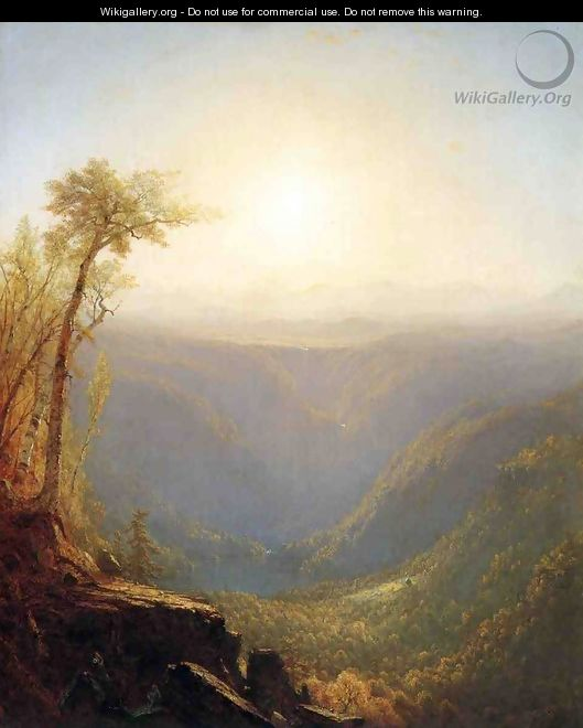 A Gorge In The Mountains (Kauterskill Clove) - Sanford Robinson Gifford