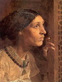 The Mother Of Sisera Looked Out A Window - Albert Joseph Moore