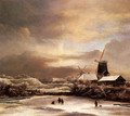 Winter Landscape2 - Jacob Van Ruisdael