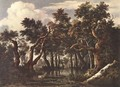 The Marsh in a Forest c. 1665 - Jacob Van Ruisdael