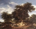 The Great Oak 1652 - Jacob Van Ruisdael