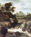 A Waterfall - Jacob Van Ruisdael