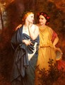 Philomena And Procne - Elizabeth Jane Gardner Bouguereau