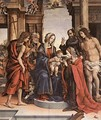 The Marriage Of St Catherine - Filippino Lippi