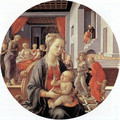 Madonna And Child With Stories From The Life Of The Virgin - Filippino Lippi