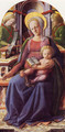 Madonna And Child Enthroned With Two Angels - Filippino Lippi