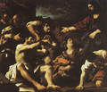 Raising Of Lazarus 1619 - Giovanni Francesco Guercino (BARBIERI)