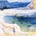 Emerald Pool2 - John Henry Twachtman