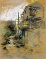 Abandoned Mill Branchville Connecticut - John Henry Twachtman