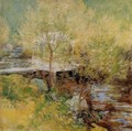 The White Bridge3 - John Henry Twachtman