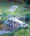 The White Bridge2 - John Henry Twachtman
