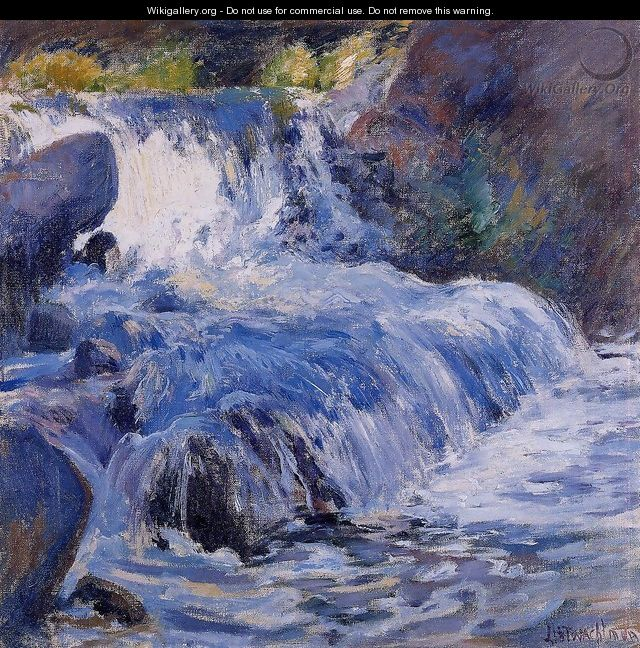 The Waterfall - John Henry Twachtman