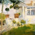The Portico - John Henry Twachtman