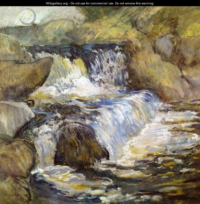 The Cascade - John Henry Twachtman