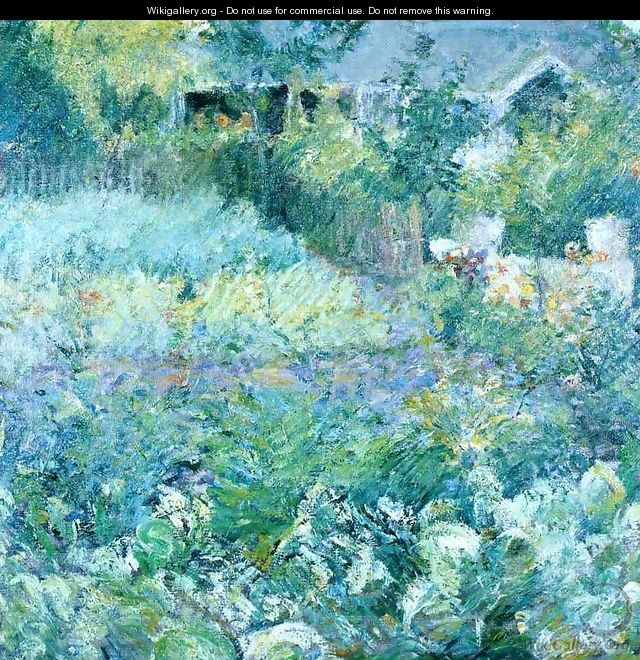 The Cabbage Patch - John Henry Twachtman