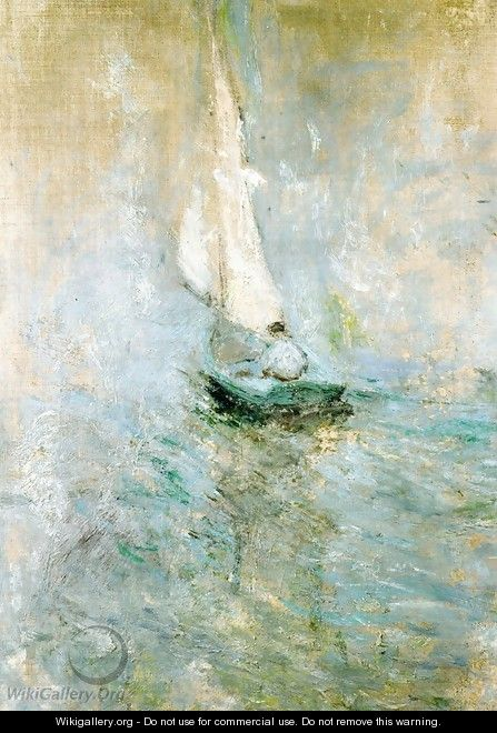 Sailing In The Mist2 - John Henry Twachtman