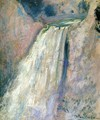 Waterfall Yellowstone - John Henry Twachtman