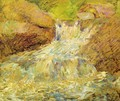 Waterfall Greenwich - John Henry Twachtman