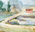 View From The Holley House - John Henry Twachtman