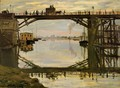 The Wooden Bridge - Claude Oscar Monet