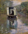 The Studio Boat2 - Claude Oscar Monet