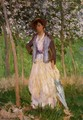 The Stroller (Suzanne Hischede) Aka Taking A Walk - Claude Oscar Monet