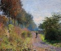 The Sheltered Path - Claude Oscar Monet