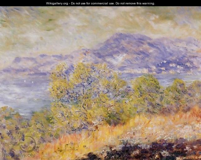 View Taken Near Ventimiglia - Claude Oscar Monet